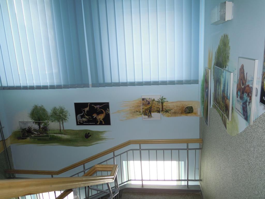 """KLATKA SCHODOWA NR 2 – ŚCIEŻKA EDUKACYJNA – """"SKALA CZASU"""""""