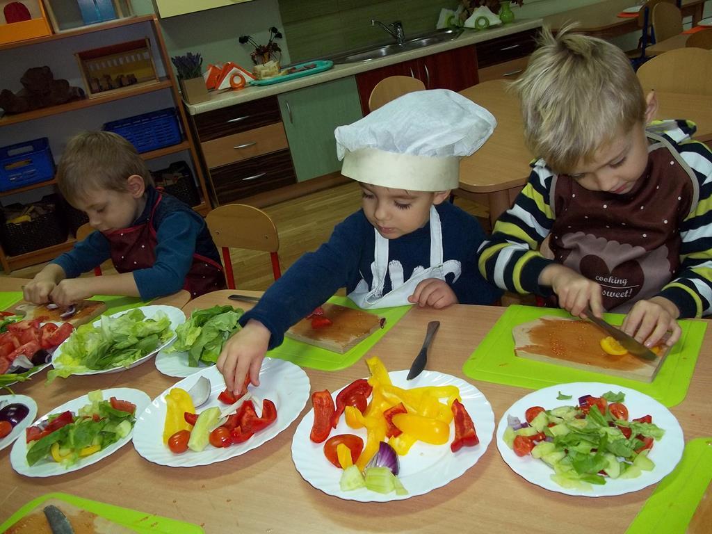 Kolorowo i zdrowo w grupie VII