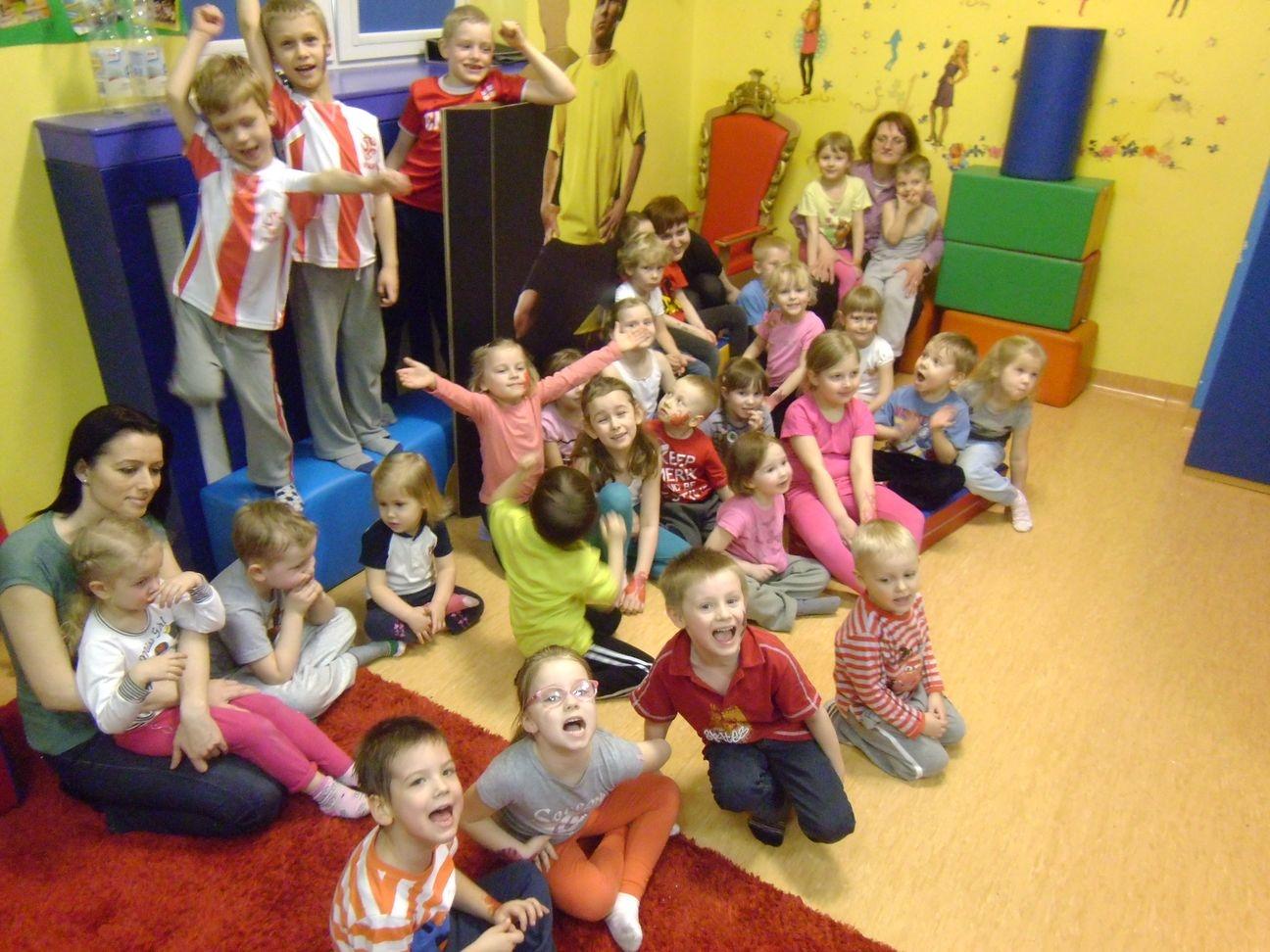 Urodziny Kamila z grupy IV w Bajkolandzie