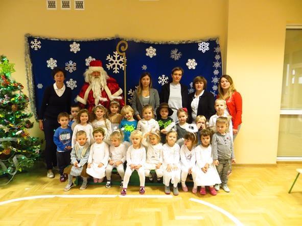 Spotkanie z Mikołajem w grupie VI