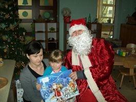 Spotkanie z Mikołajem w grupie V