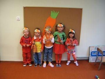 Dzień marchewki w grupie VIII