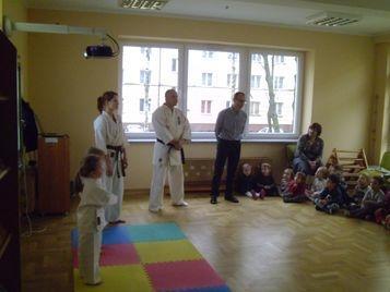 Pokaz karate w naszym przedszkolu