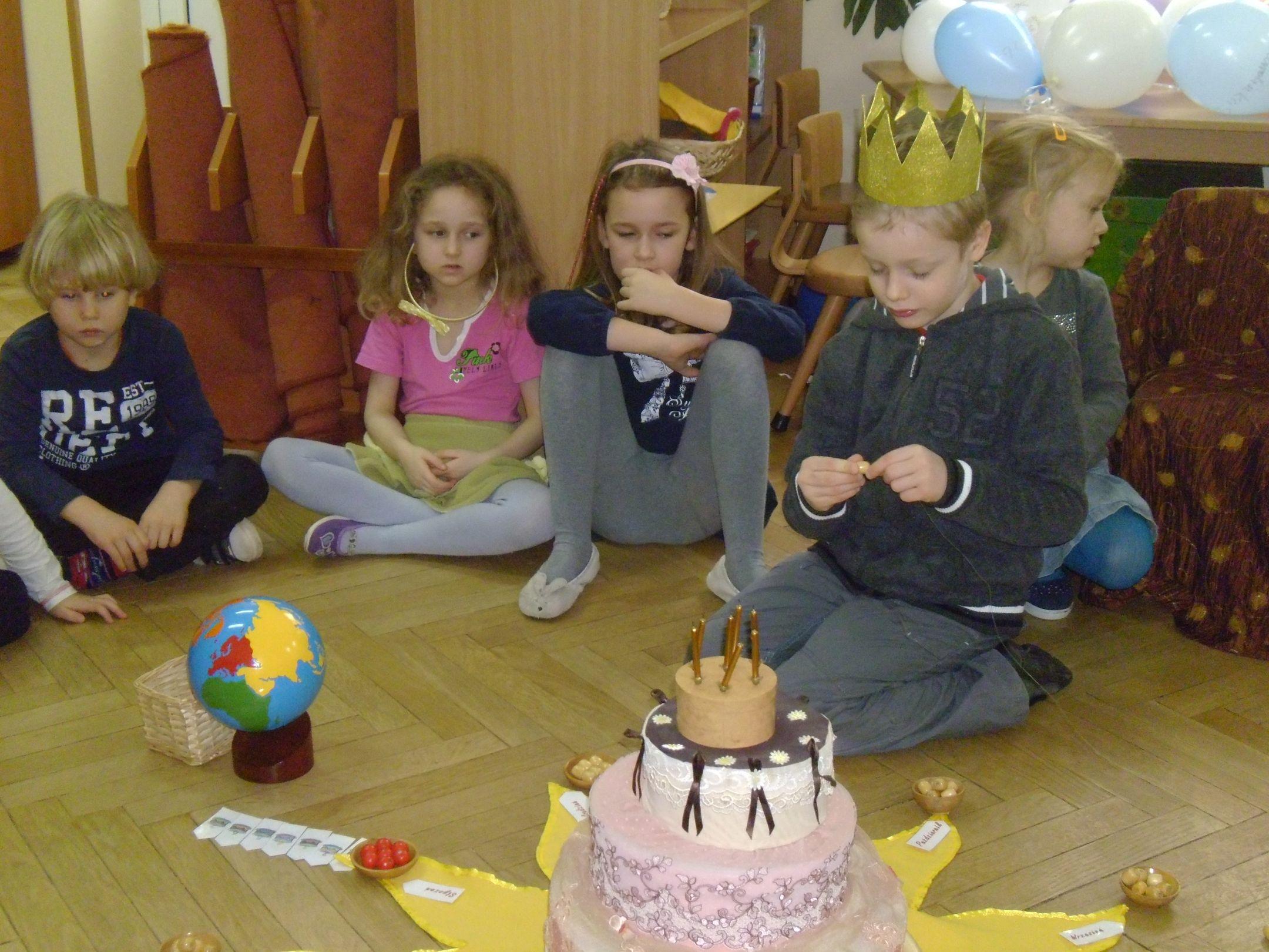 Urodziny Patryka w gr. IV