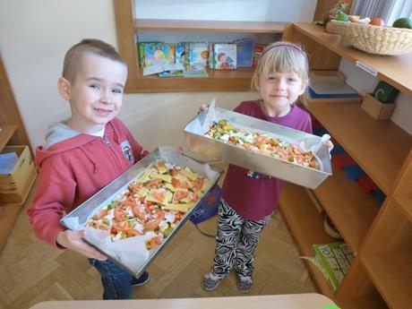 Tak robiliśmy naszą pizzę – grupa II