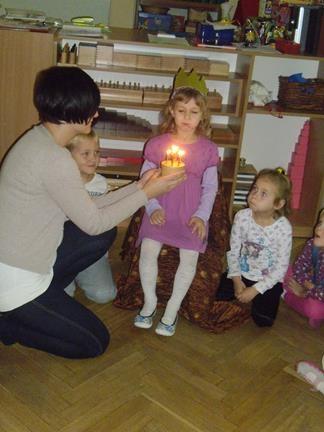 6 urodziny Oli z grupy IV