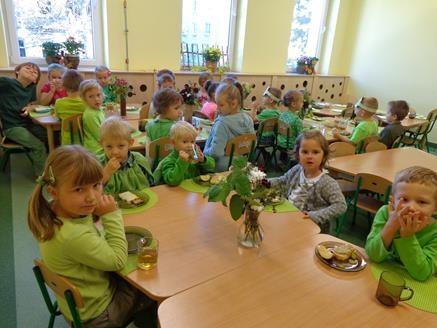 Zielono mi – Dzień Przedszkolaka w grupie V
