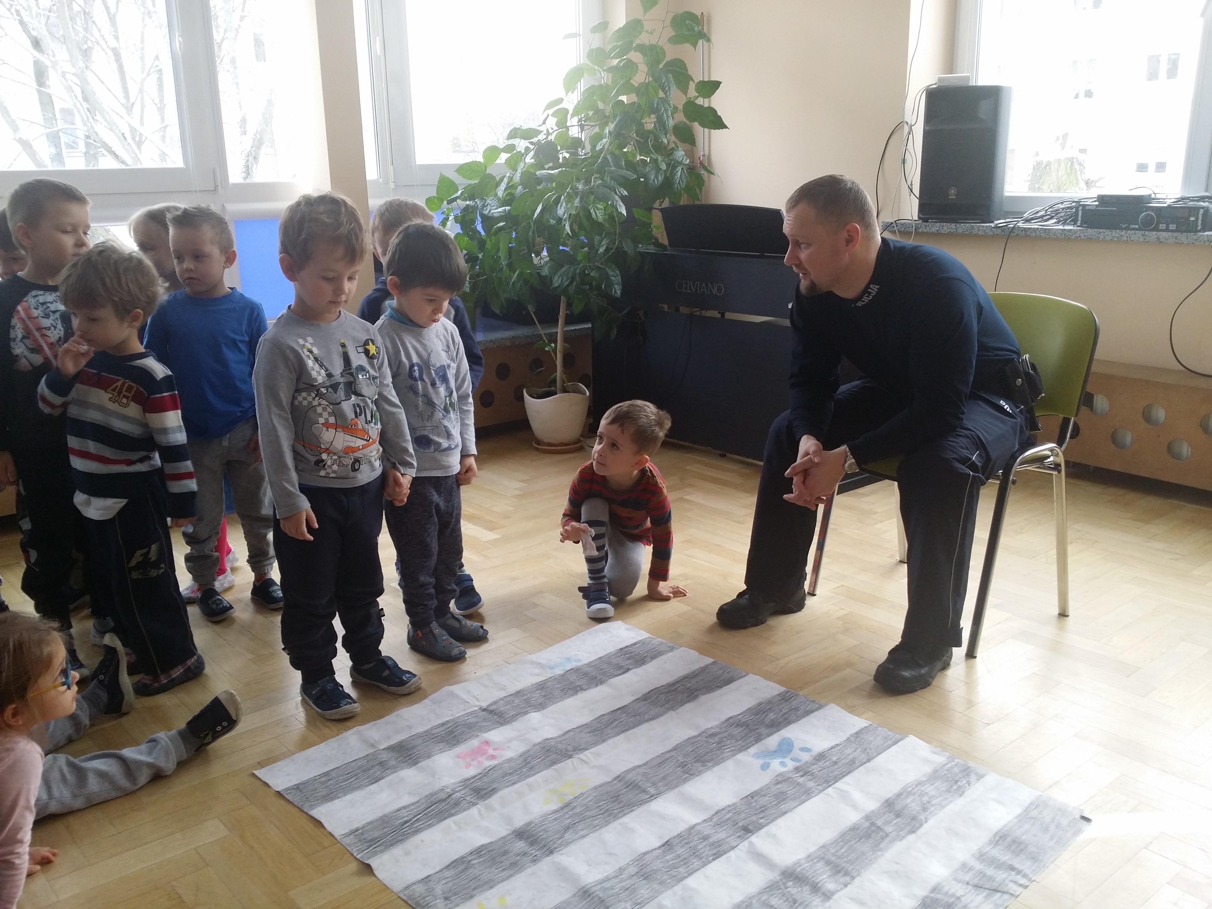Spotkanie z policjantem – grupa IV