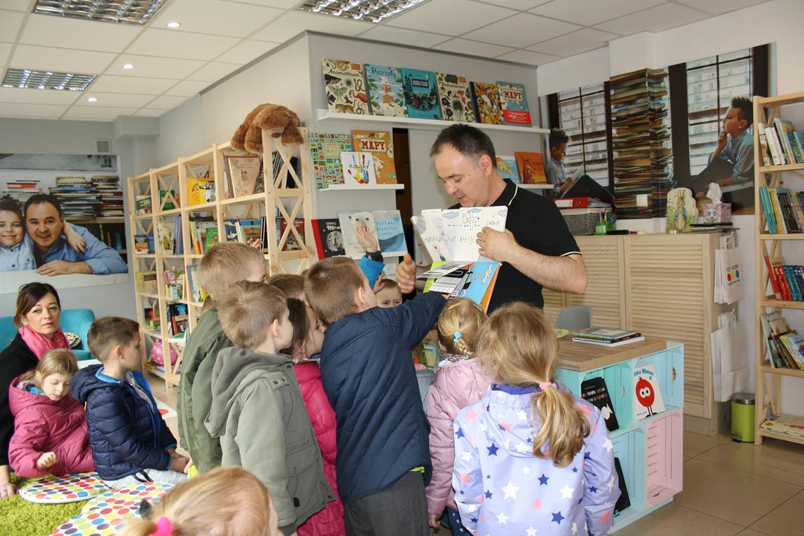 Wycieczka do księgarni dla dzieci – grupa III