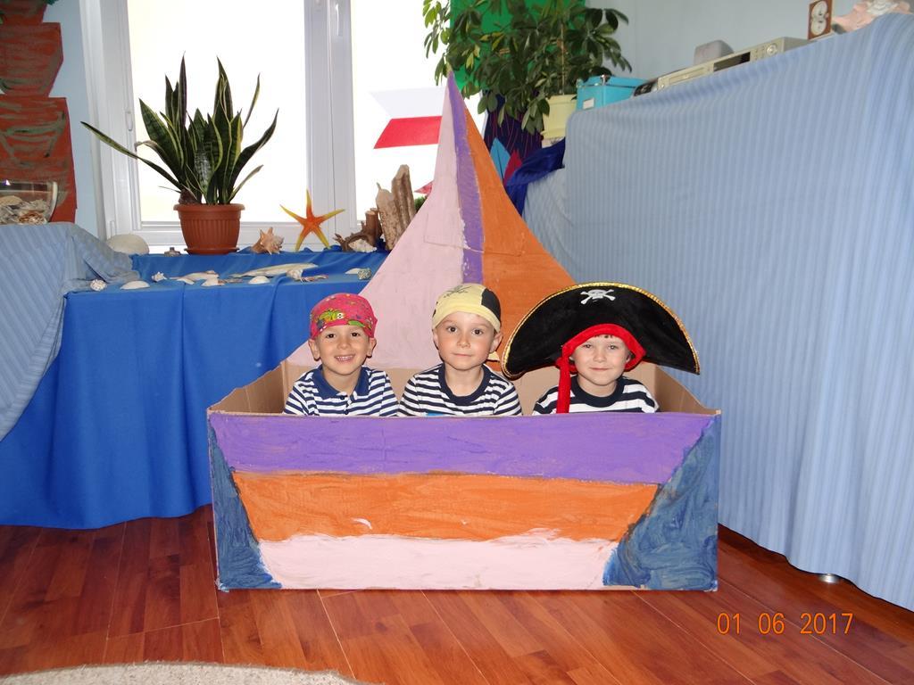 Mali piraci z grupy VIII