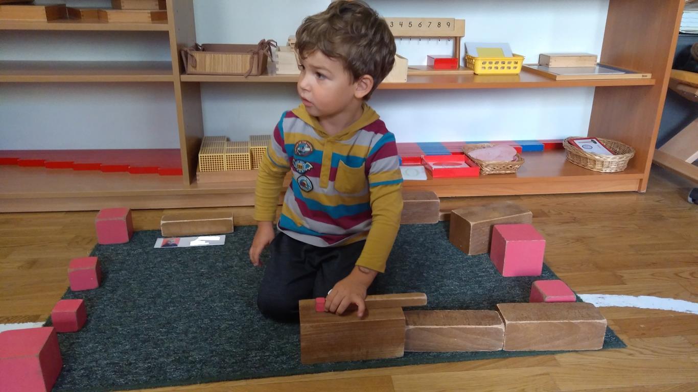 Nasza praca według założeń pedagogiki M. Montessori – grupa VII
