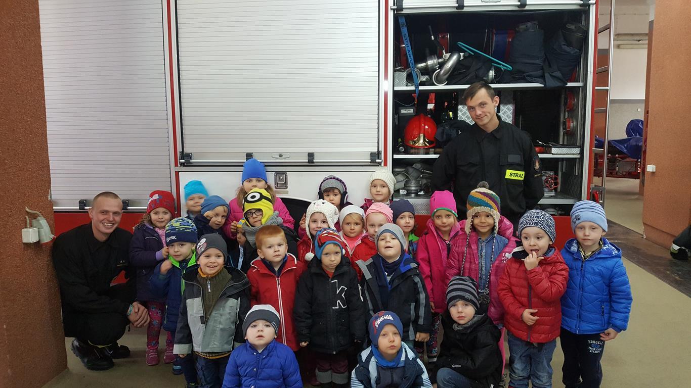 Wycieczka do Straży Pożarnej w Białymstoku – grupa VI