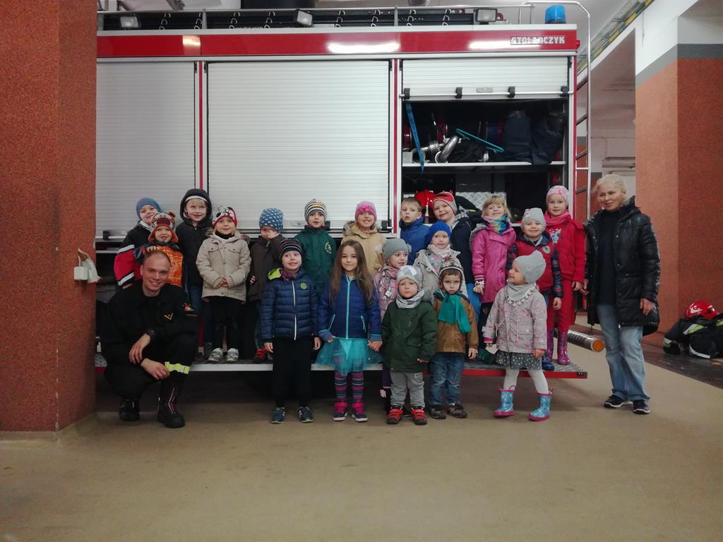 Wycieczka do Straży Pożarnej – grupa III