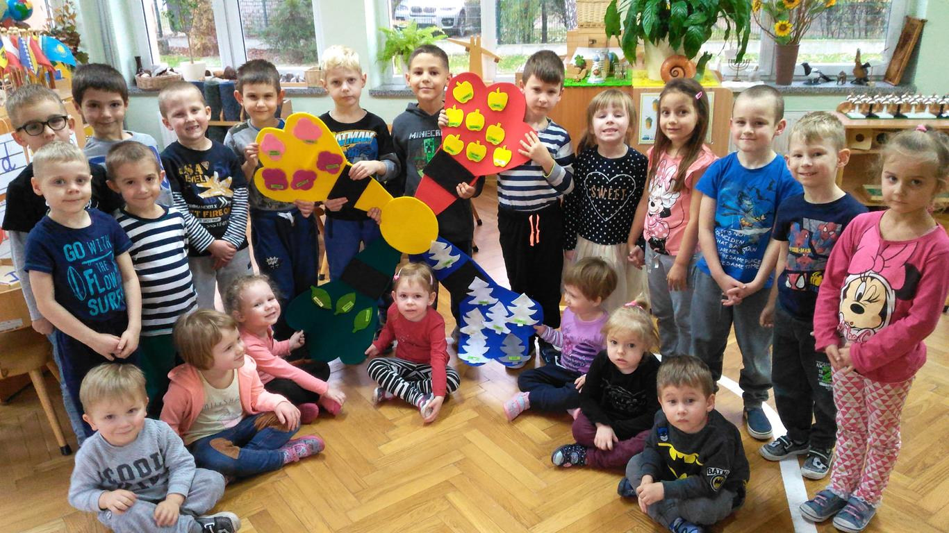 Ogólnopolski Dzień Praw Dziecka w grupie I