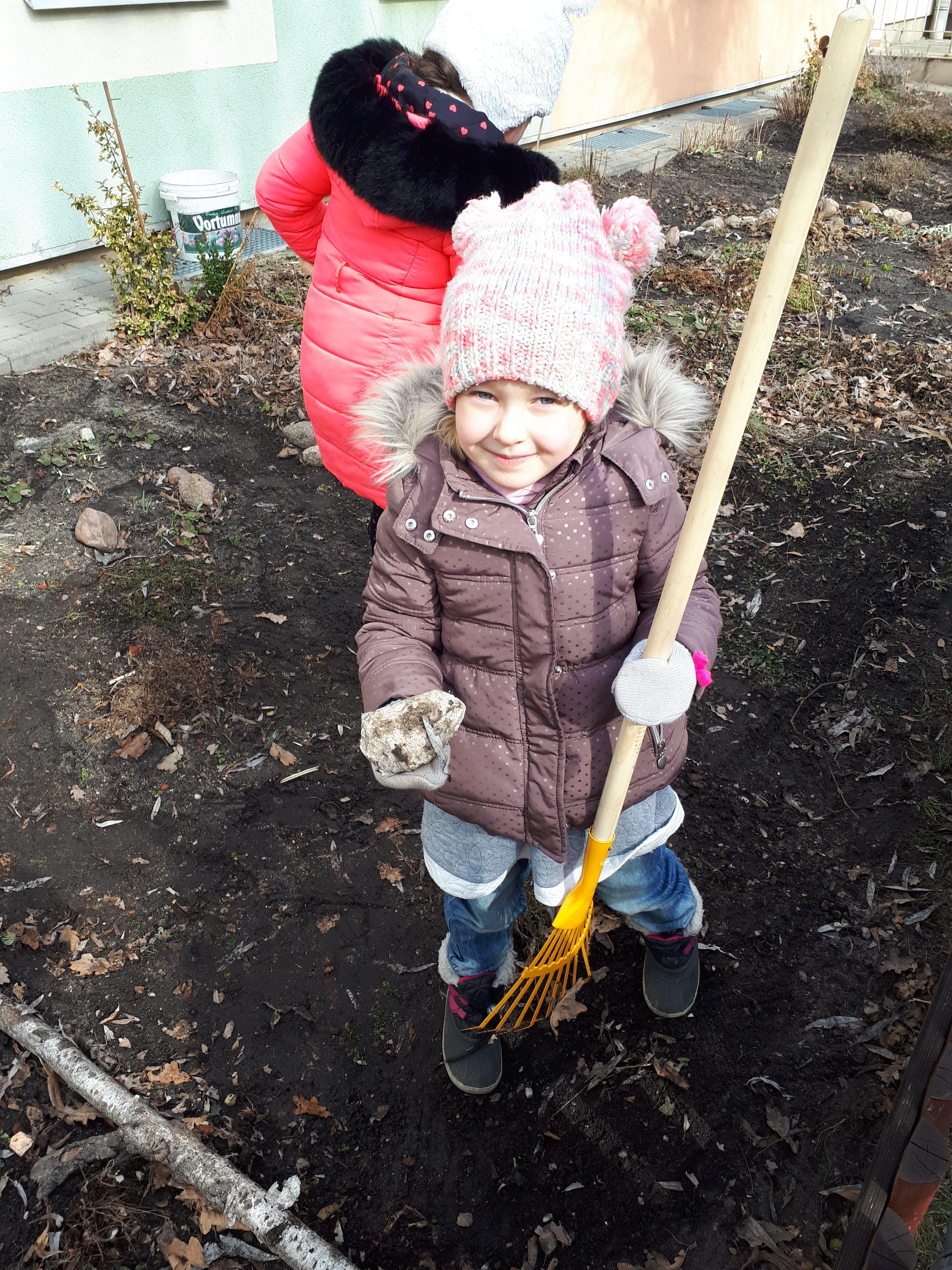 Wiosenne porządki w ogrodzie – grupa II