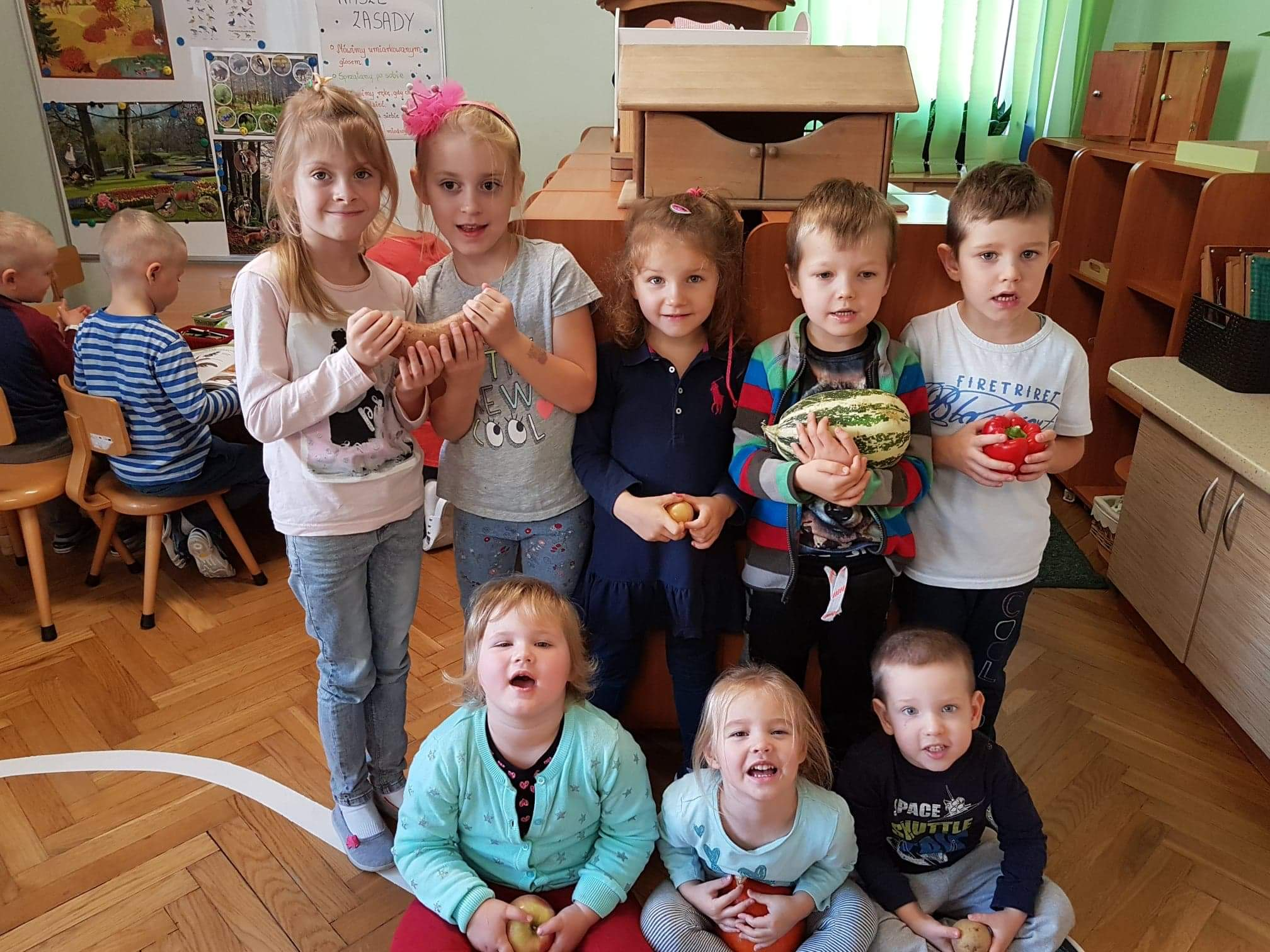 Owoce i warzywa w grupie III