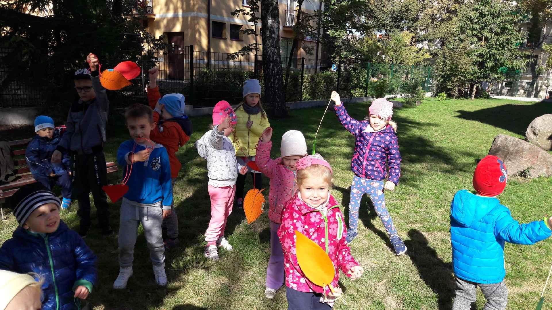 Zajęcia w ogrodzie przedszkolnym – grupa I