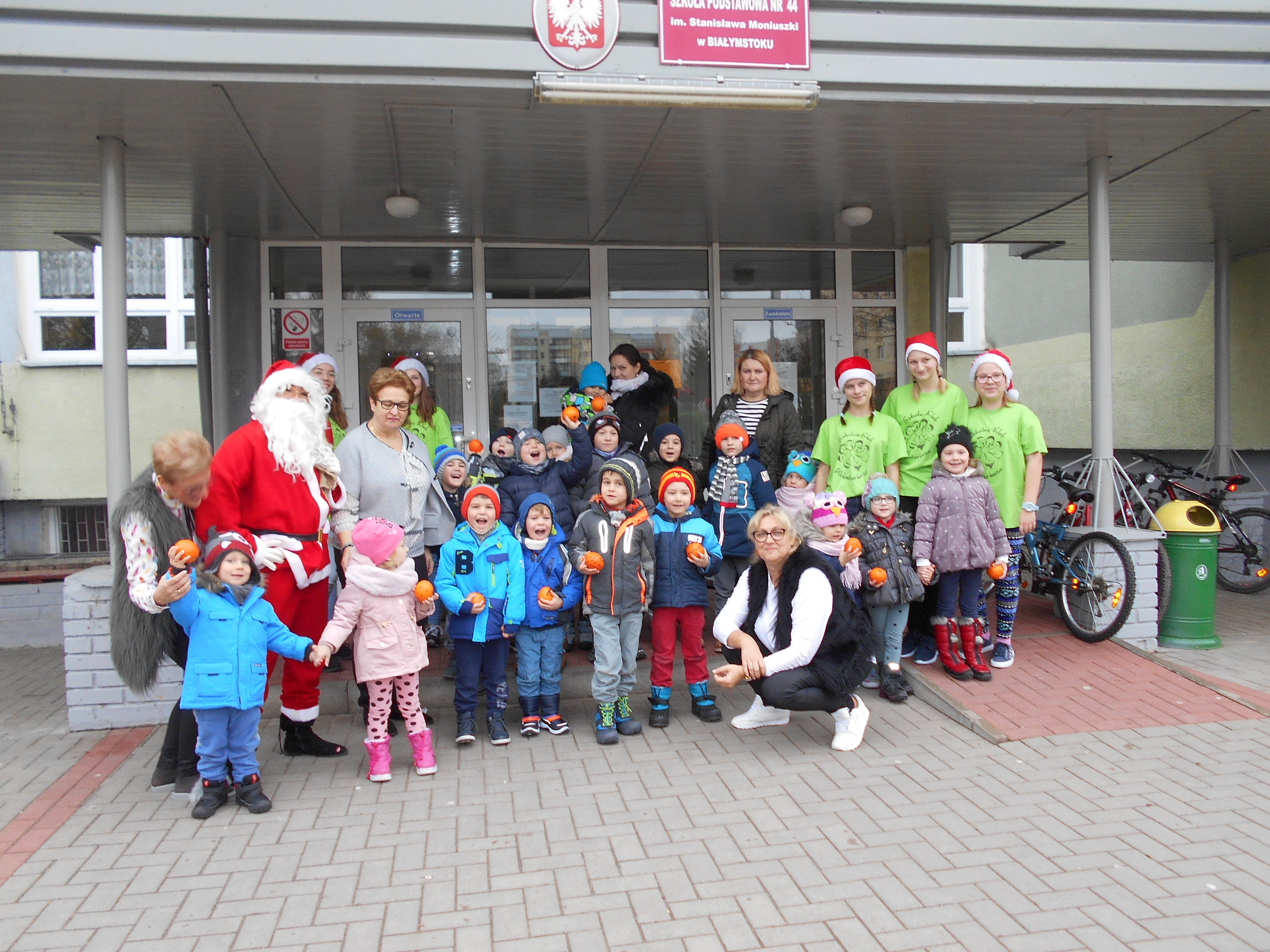 Wyjazd grupy VII do Szkoły Podstawowej nr 44 w Białymstoku