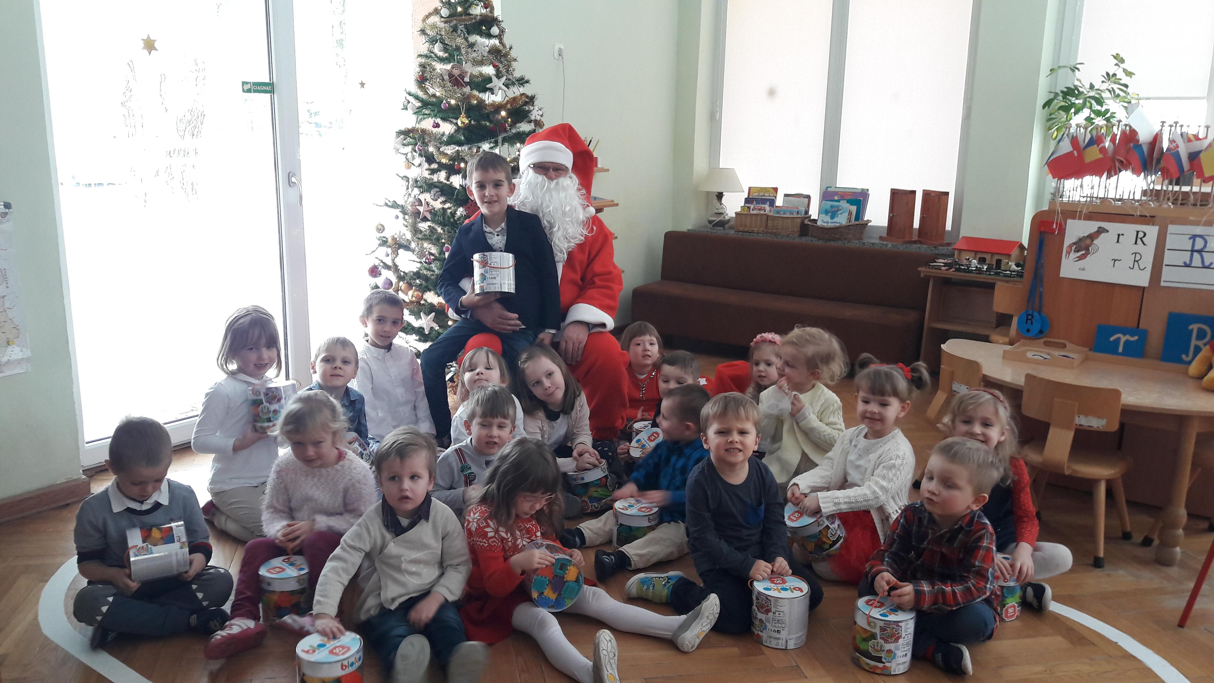 Mikołaj w grupie I
