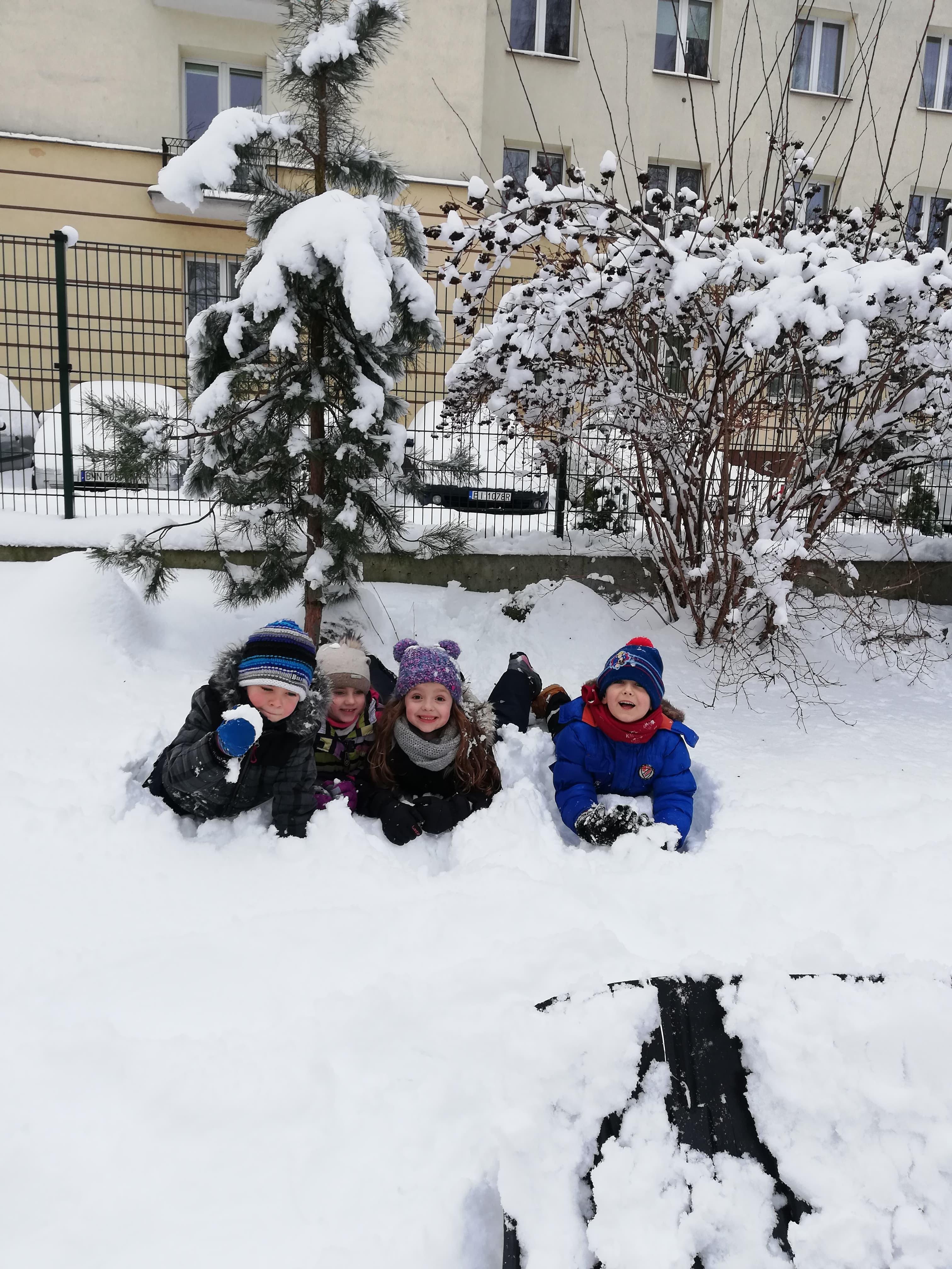 Zimowe szaleństwo – grupa IV