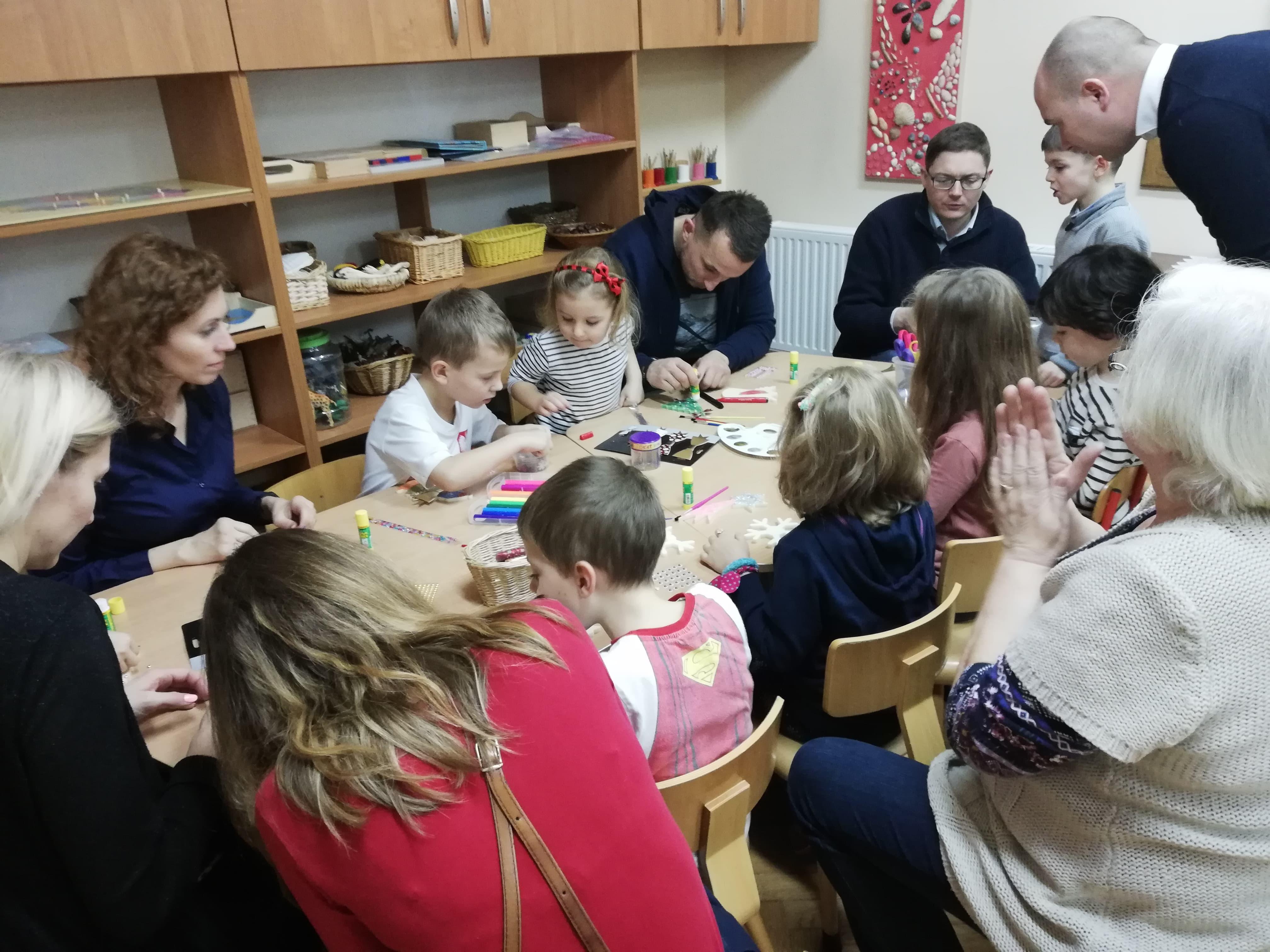 Warsztaty z okazji Świąt Bożego Narodzenia – grupa IV