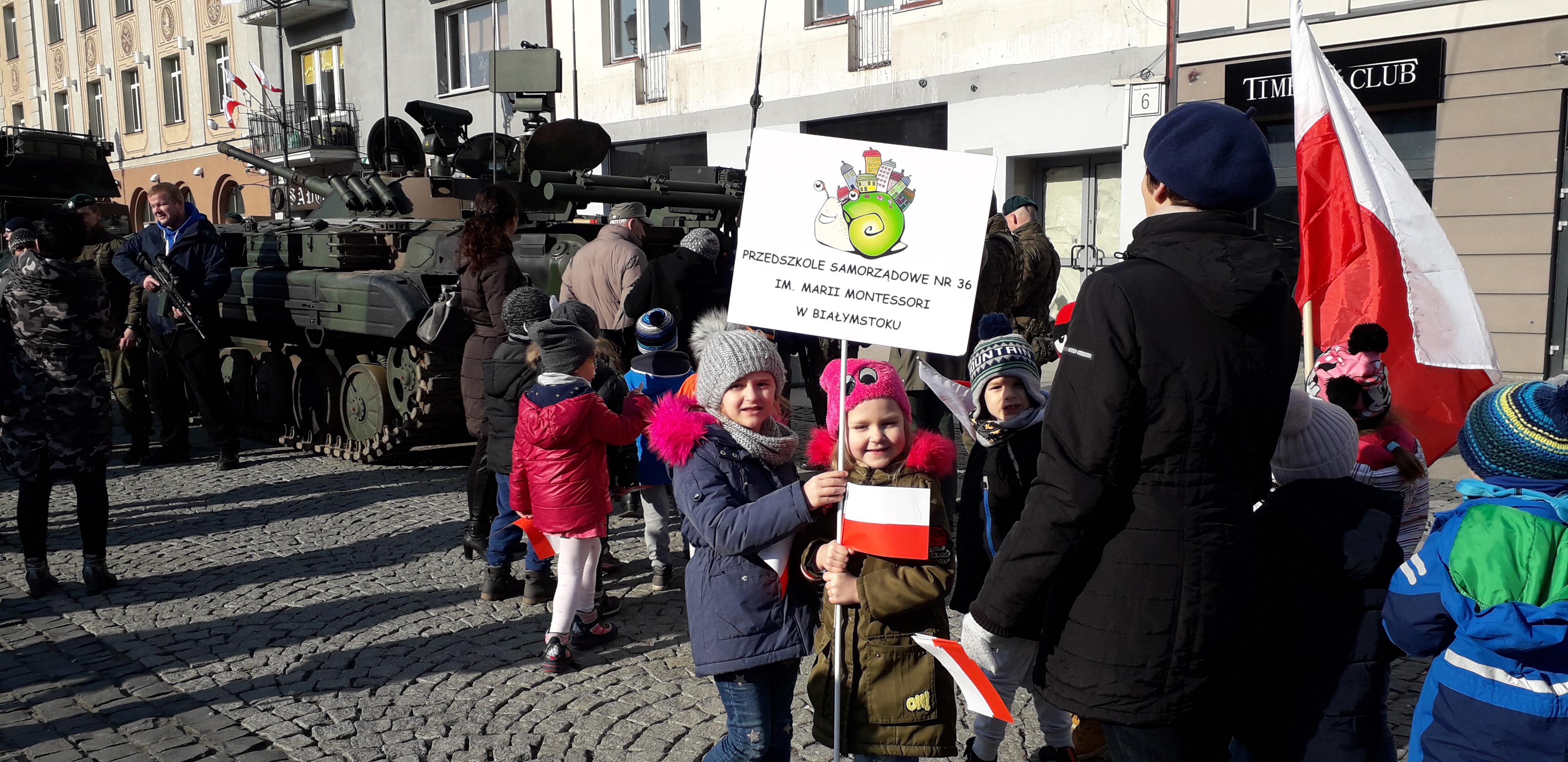 Grupa V – obchody stulecia odzyskania niepodległości przez Białystok