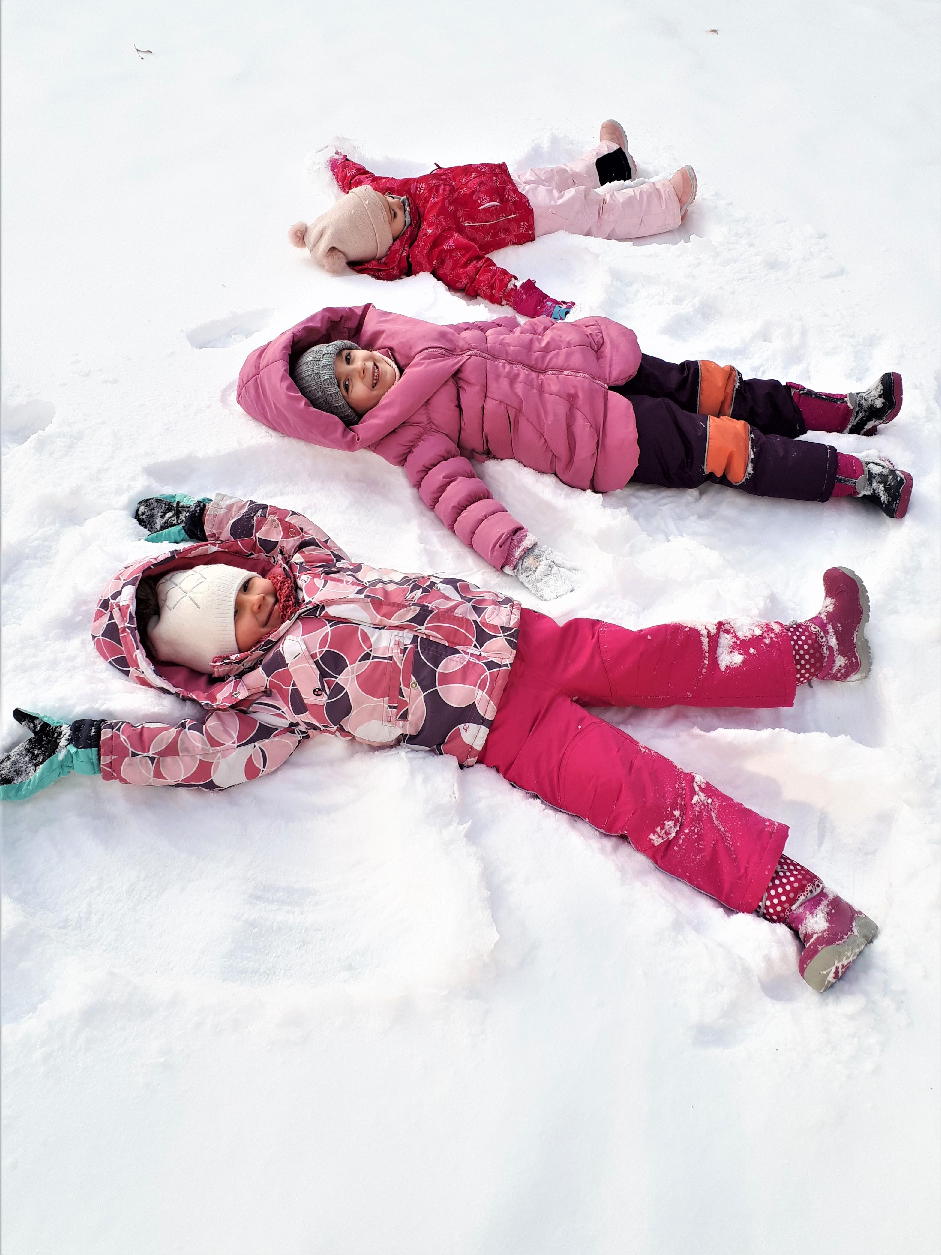 Bawimy się śniegiem