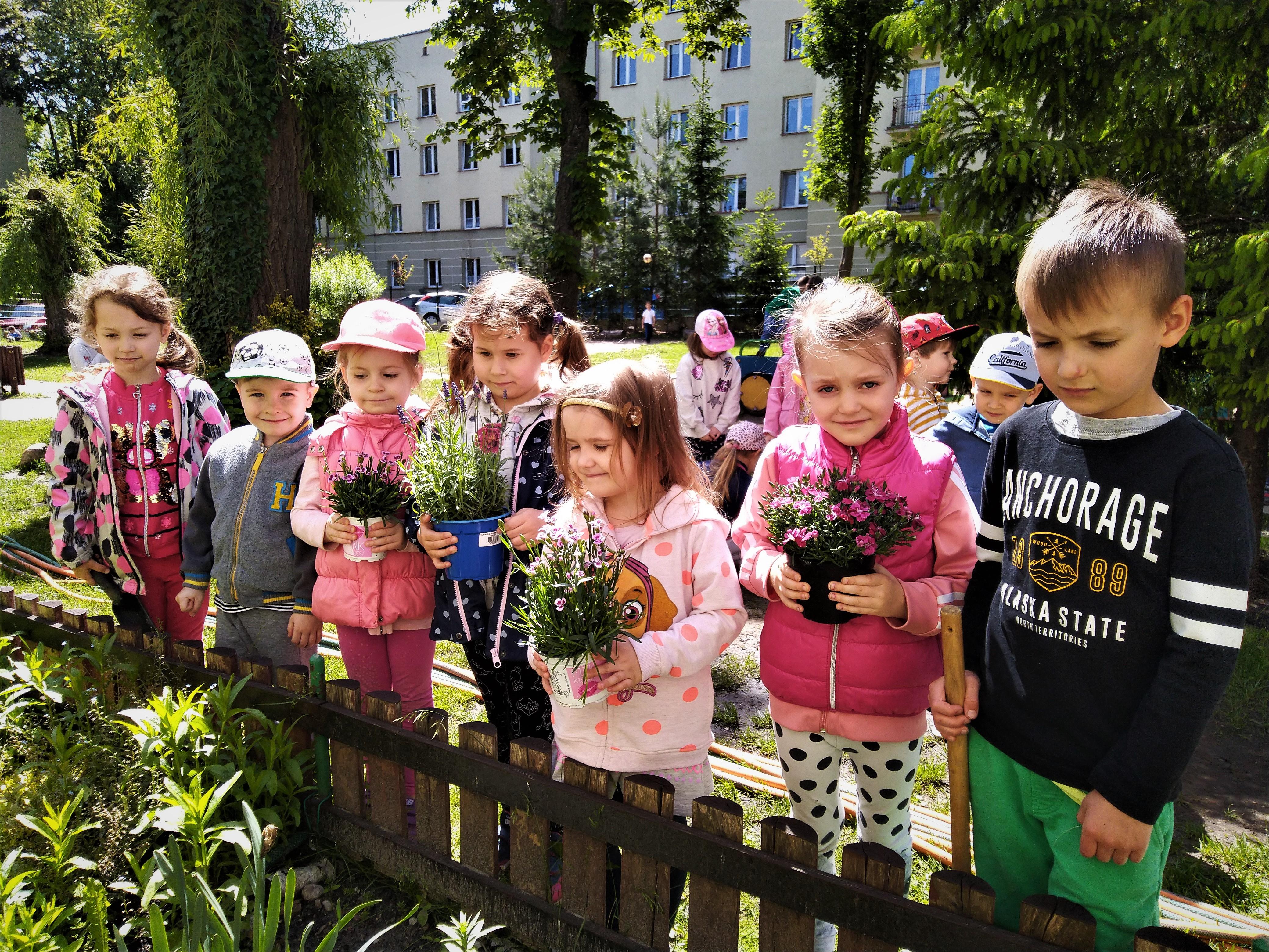 Praca w ogrodzie – grupa II
