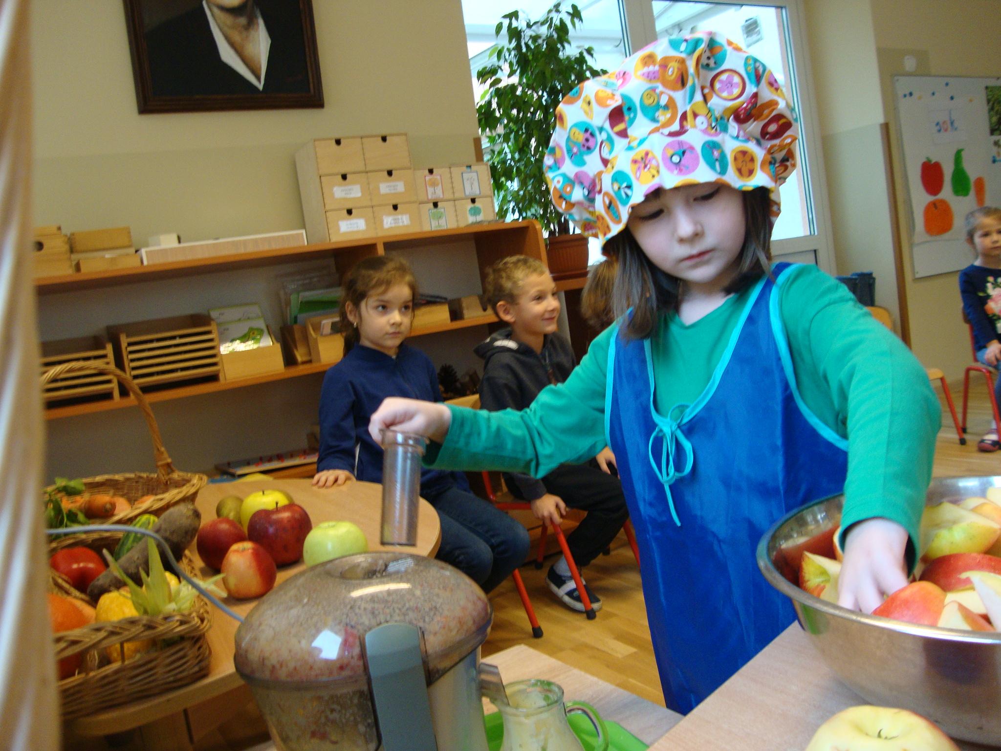 Robimy soki owocowo-warzywne – grupa VIII