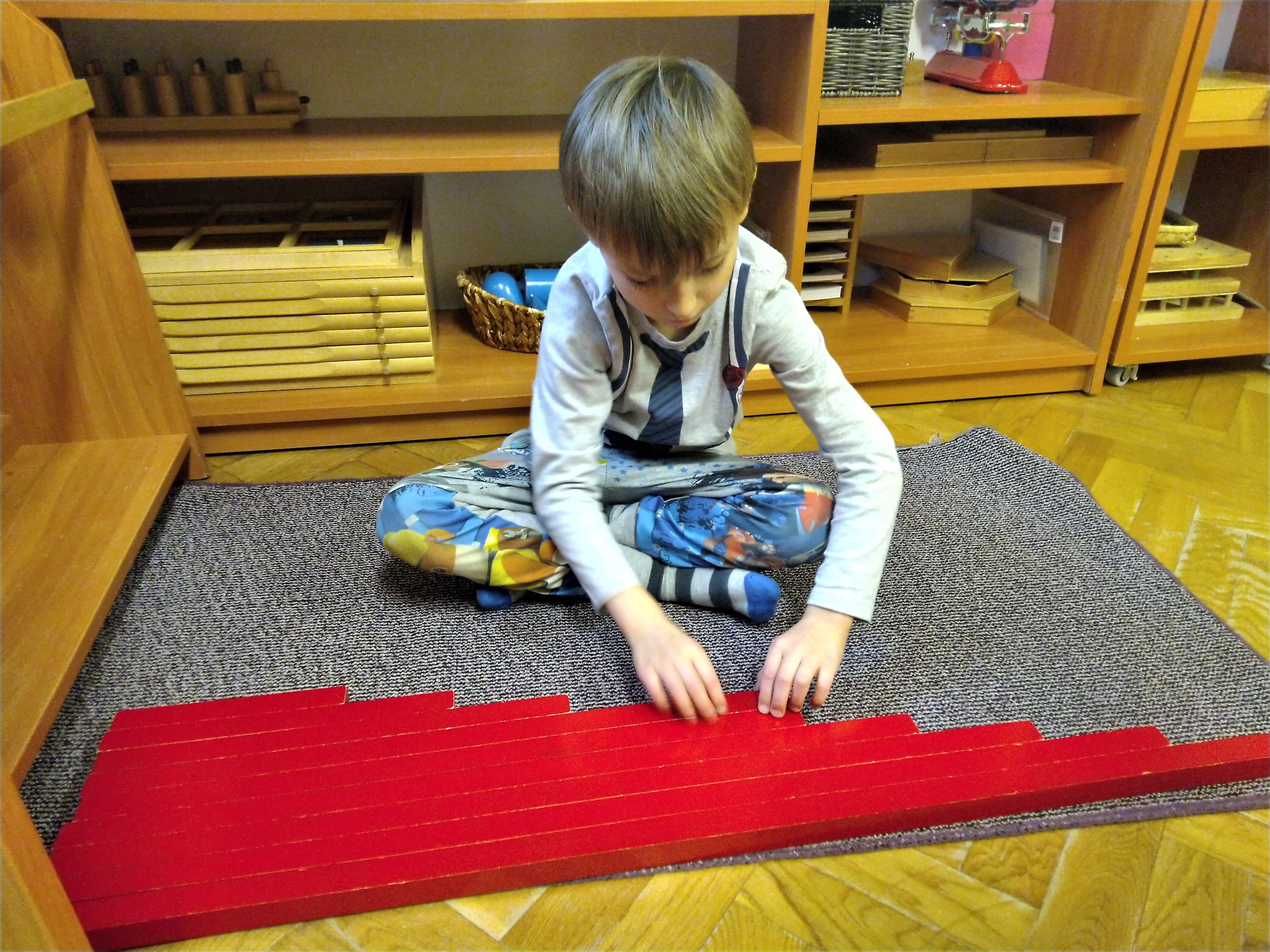 Praca własna dzieci z grupy II
