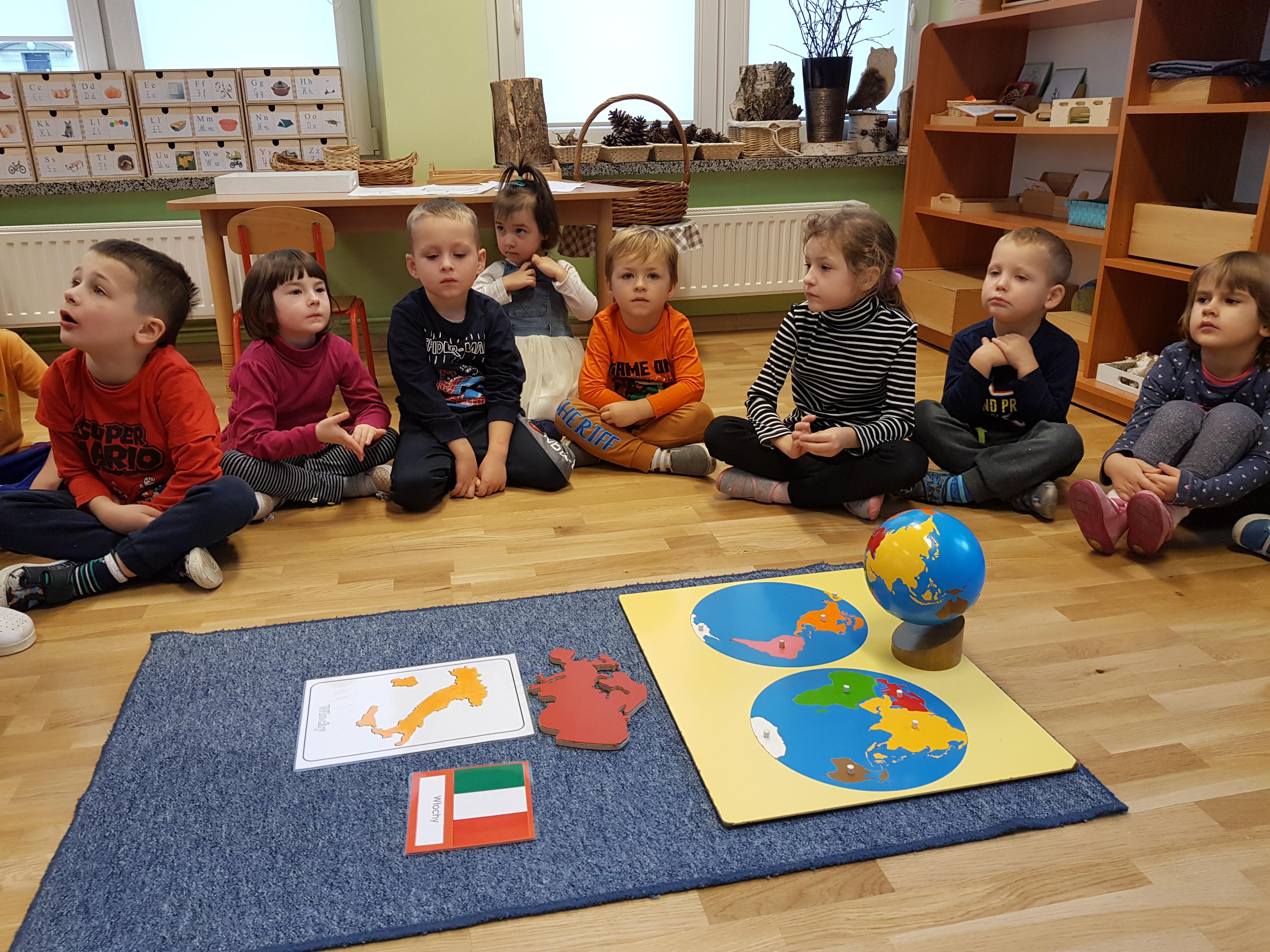 Dzień z Marią Montessori