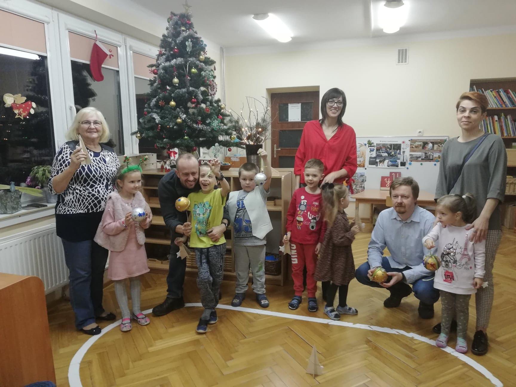 Warsztaty świąteczne w grupie IV