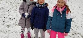 Pierwszy śnieg – grupa VIII