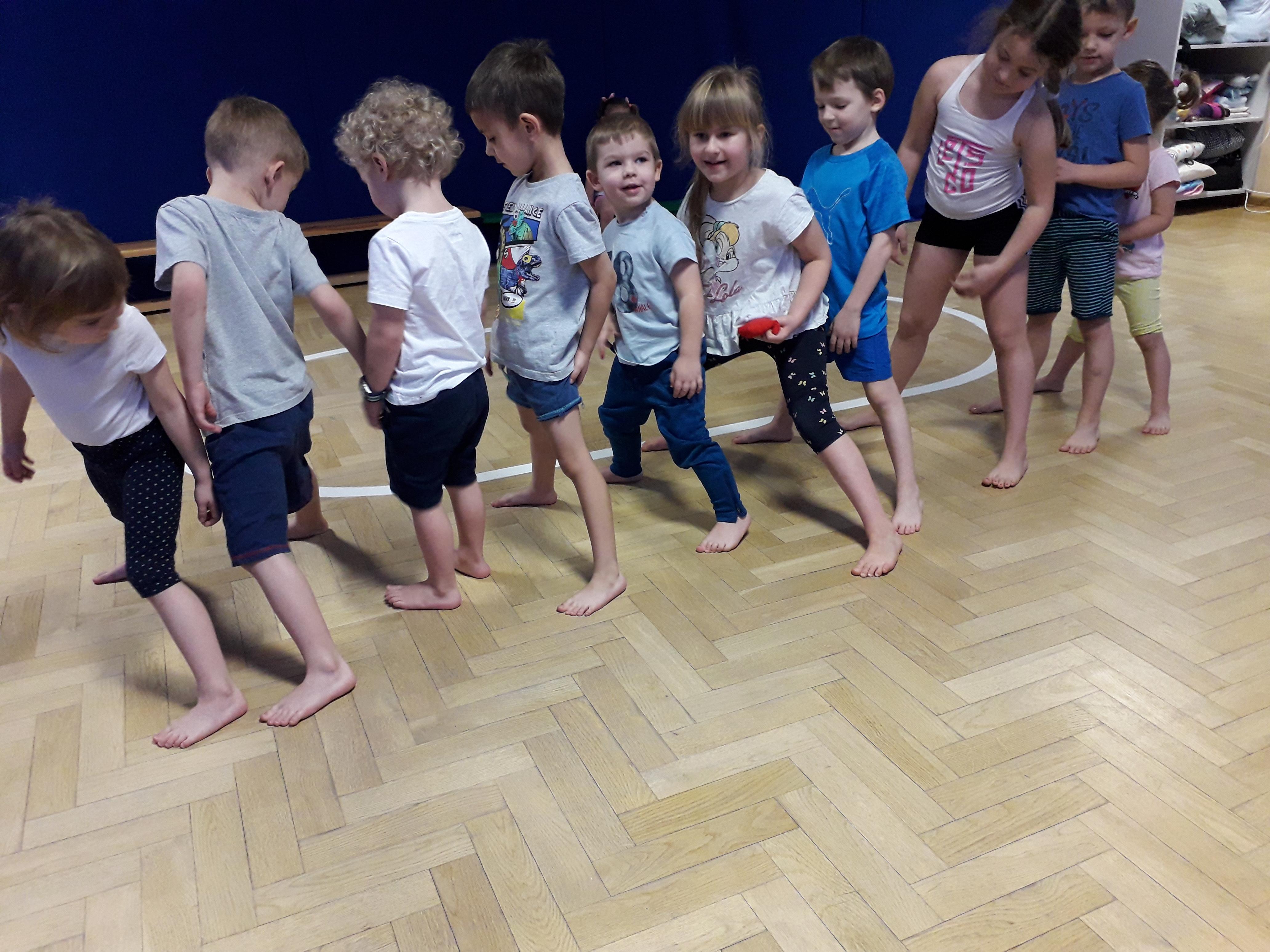 Gimnastyka dobra sprawa i zabawa – grupa VI