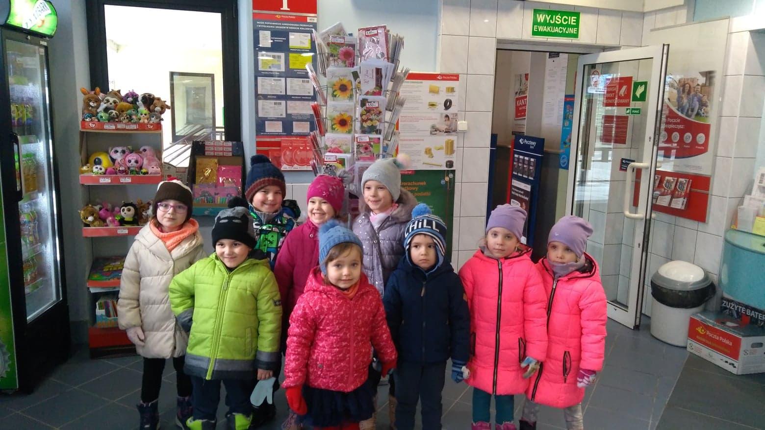 Wycieczka na pocztę – grupa VII