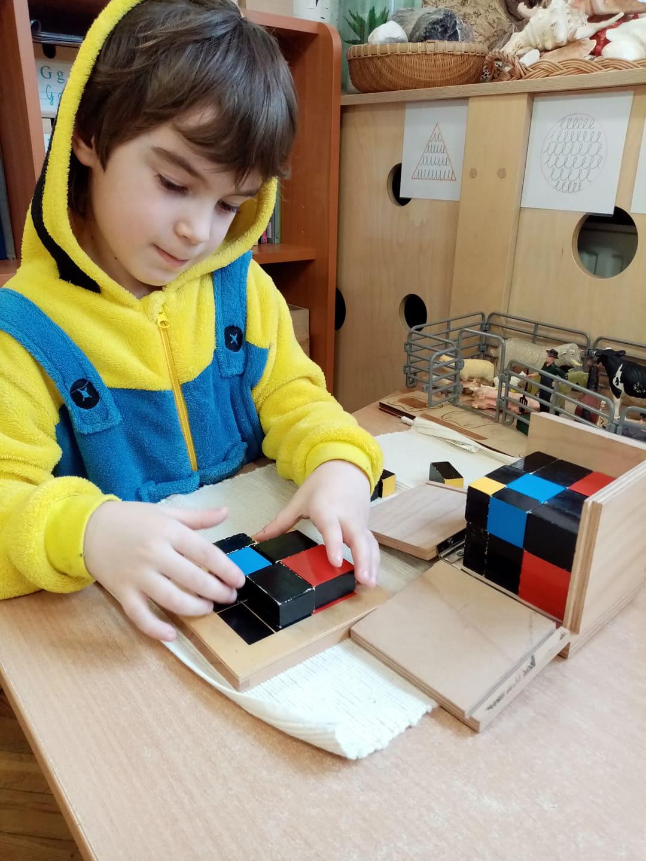 Dziecko odkrywcą świata poprzez zmysły – grupa V