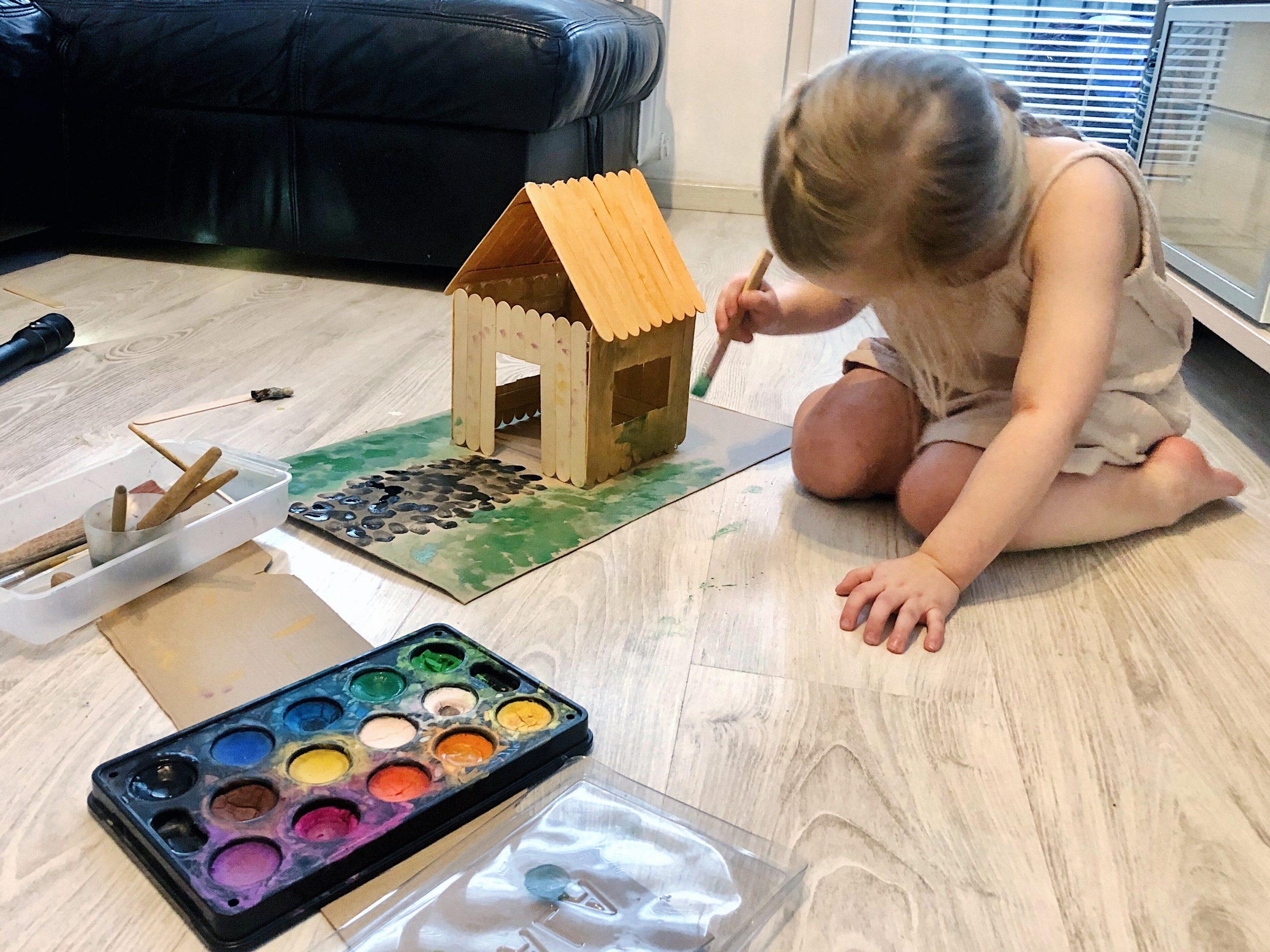 Przestrzeń domowa wg. pedagogiki Marii Montessori