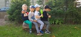 Lubimy spędzać czas w ogrodzie – grupa VI