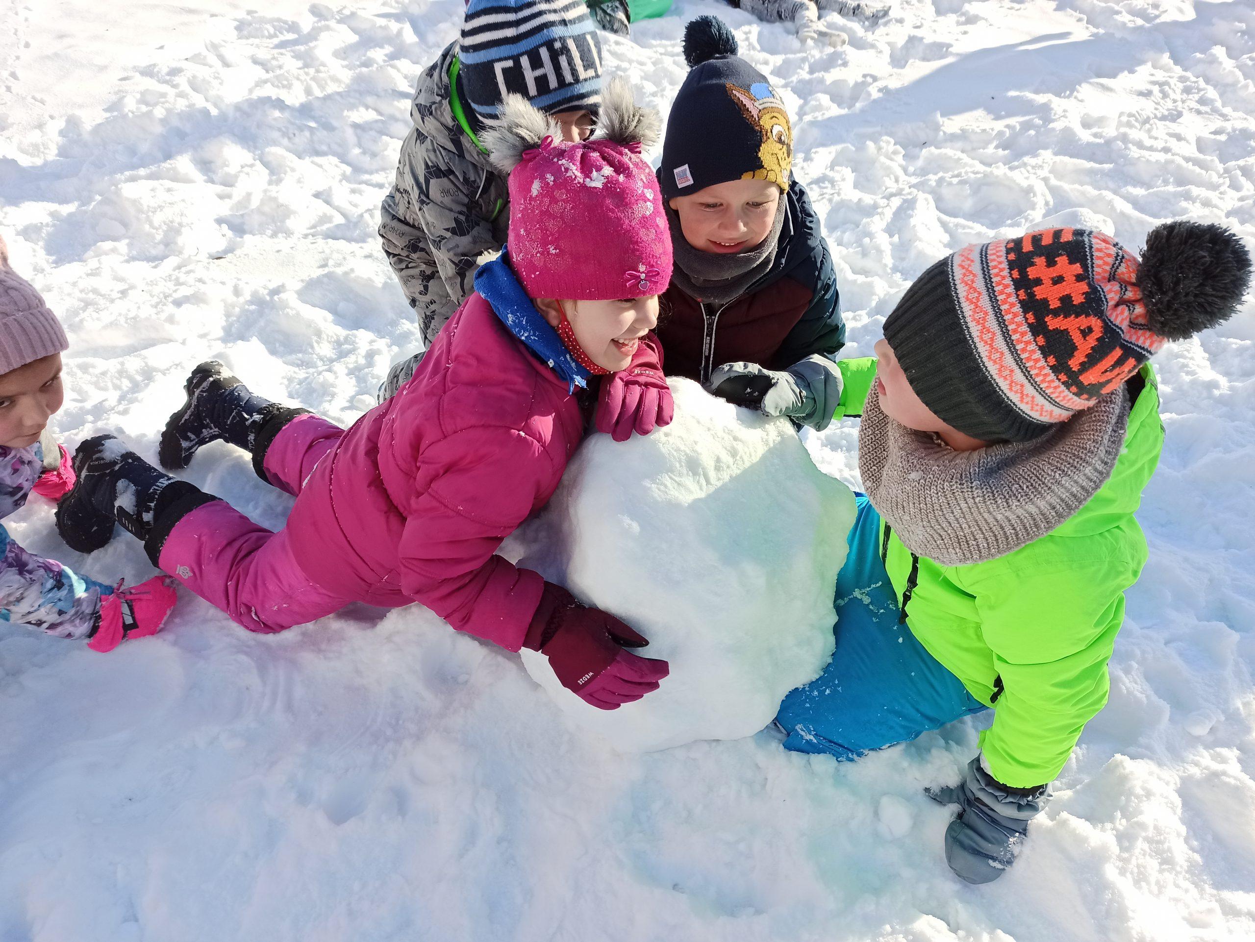My się zimy nie boimy no i świetnie się bawimy – grupa VII