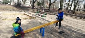Zabawy w parku – grupa IV